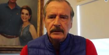 Vicente Fox Rips Trump On DACA: 'Didn't Have Balls To Say It Himself'