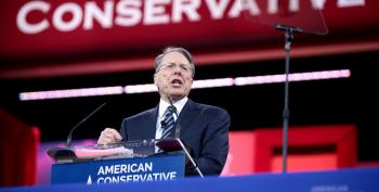 'F*cking Delusional': Wayne LaPierre Shows His Face On TV -- And Twitter Pounds Him Over Vegas Deaths