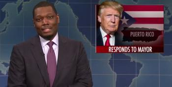 SNL's Michael Che Rips 'Cheap Cracker' Trump Over Botched Puerto Rican Response