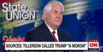 Rex Tillerson Once Again Refuses To Deny Calling Trump A 'Moron'