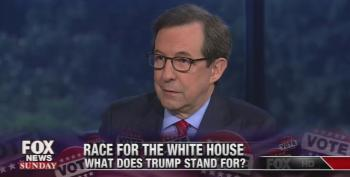 'It's Bad Form!' Fox News' Chris Wallace Chastises Colleagues For Attacking The Press