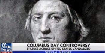 Fox 'Defends' Columbus Day By Depicting Native Americans As Savages