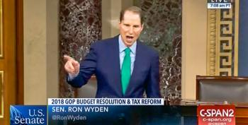 Sen. Ron Wyden Shreds Mnuchin For Tax Plan Based On 'Magical Growth Fairies'