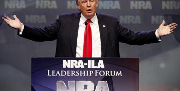 Why Would Trump Even Mildly Challenge The NRA?