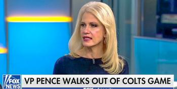 Gee, Kellyanne Is Offended At Calling Pence's Stunt A 'Stunt'