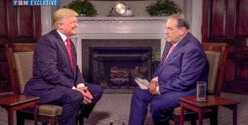 Huckabee Swears 'We Will Forever Vote For You' During Trump Interview On Christian TV