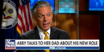 Amb. Jon Huntsman Hints He Won't Concern Himself With Russian Election Hacking