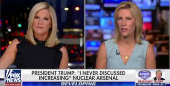Fox's Ingraham And MacCallum Join Trump's War On Our Free Press