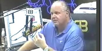 Wow.  Rush Limbaugh Breaks With Trump On NFL