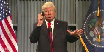 SNL Cold Open Mocks Trump Demanding Pence Leave Colts Game