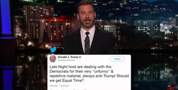 Jimmy Kimmel Gives Donald Trump Jr. Some Facts About Certain Serial Sexual Harassers