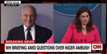 Gen. Kelly Blames Grieving Widow, Trashes Rep. Wilson To Rehabilitate Trump