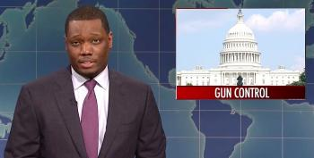 SNL's Michael Che Slams 'Penis Enlargement'-Needing 'Delicate Snowflake' Gun Owners