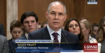 Paranoia Strikes Deep: EPA Chief Wants More Money For 'Security'