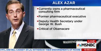 Trump's HHS Pick Alex Azar Is The Worst Pharma Bro Of All