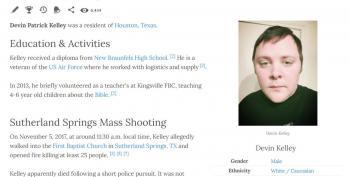 Shooter Identified In TX Church Shooting