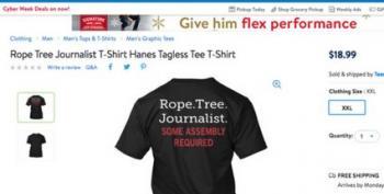WalMart Pulls T-Shirt Advocating For Journalist Lynchings