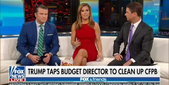 Fox Portrays Putting Mulvaney In Charge Of Consumer Protection Agency He Wants To Destroy As 'Draining The Swamp'