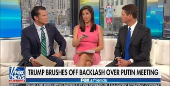 Trump's Fox Cheerleaders Defend His Flip-Flop On Russia: He Was 'Taken Out Of Context'