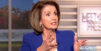 Nancy Pelosi Chides Chuck Todd: 'We're Not Even Going To Talk About Taxes!'