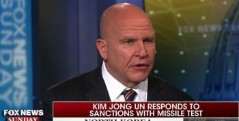 Report: H.R. McMaster Says Trump Has The Intelligence Of A 'Kindergartner'