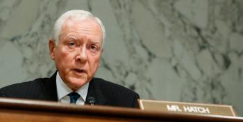 Orrin Hatch's 'Bullcrap' On Taxes Is Exactly That