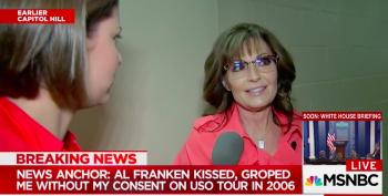 Sarah Palin Brags She's Never Been Harassed Because She's 'Packing' A Gun
