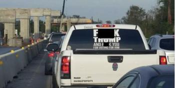 Texas Sheriff Threatens Charges Over Profane Sticker On Truck