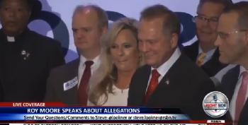 Roy Moore Holds A Press Conference With Faith Leaders, Then Walks Out On It