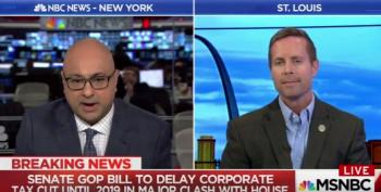 Ali Velshi Flattens GOP Tax Cut Claims: 'Do You Actually Believe In Trickle Down?'