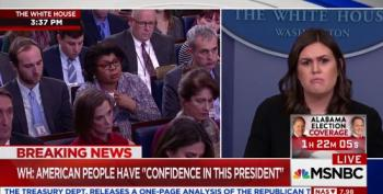 Huckabee Sanders Sneers At Reporter's Question: 'Your Mind Is In The Gutter!'