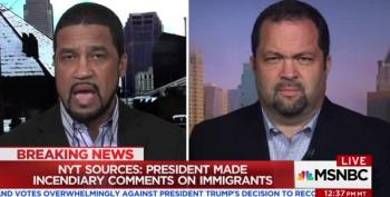 Head Of Trump's 'Diversity Coalition' Calls Report Of His Racist Remarks About Haitians 'Fake News'