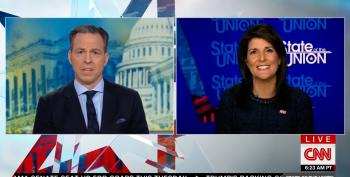 Trump UN Ambassador Nikki Haley Wishes Jewish Host Jake Tapper A 'Merry Christmas' (UPDATED)