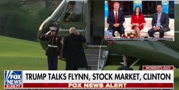 Fox And Friends Fight!  Doocy Slaps Down Kilmeade On Flynn