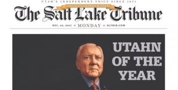 Orrin Hatch Didn't Read The Fine Print On His 'Prestigious Award'
