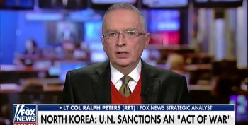 Fox News Analyst Col. Ralph Peters Shills For War With North Korea