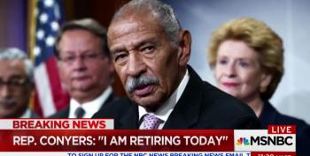 John Conyers Abruptly Retires After Sexual Harassment Accusations