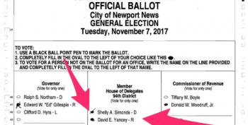 Virginia Candidate Asks Court To Delay Drawing Lots To Determine Election Winner (UPDATED)