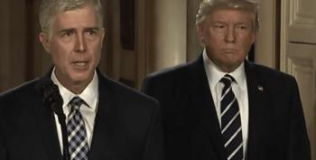 That Neil Gorsuch Letter To Trump Seems Suspicious