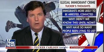Tucker Carlson Uses Distorted Immigrant Crime Data To Claim, 'We're Letting In The Wrong People'
