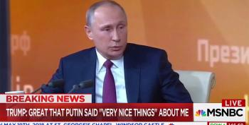 Putin's Puppet Thanks Putin For Being Nice To Him On The Phone