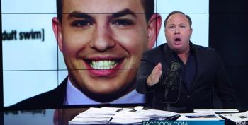 Alex Jones Really Loses His Sh*t While Attacking CNN's Brian Stelter