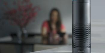 Sarah Huckabee Blasts Amazon's Alexa