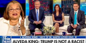 MLK's Pro-Trump Niece Tells Fox & Friends: Trump Isn't Racist Because Black People Have Jobs