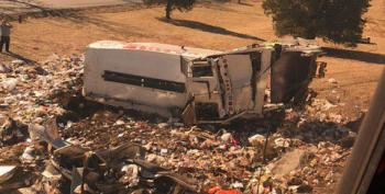 Train Full Of Republicans Hits Garbage Truck, Kills One Worker