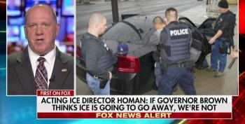ICE Dir. Threatens CA Over Sanctuary Law: 'We've Gotta Start Charging Some Of These Politicians With Crimes'