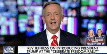Pastor Robert Jeffress Attacks The Christianity Of Trump's Evangelical Critics: They Don't Take The Bible Seriously