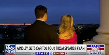 The Toadying Is Complete:  Paul Ryan Gives A Shout Out To Trump Hotel On Fox & Friends