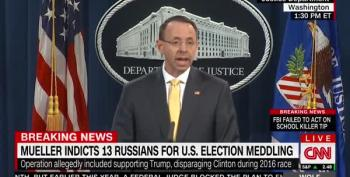 Trump Supporters Somehow Spin Russian Indictments As Vindication