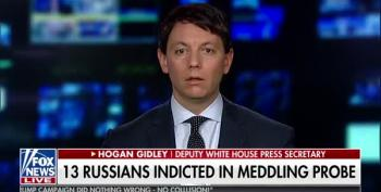 Trump Spokesperson Blames Election Meddling On Democrats And Media Instead Of Russia